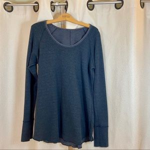 Lululemon reversible sweatshirt